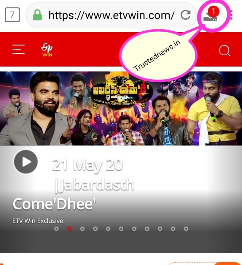 download videos from ETV Win Exclusive