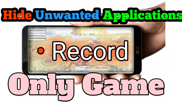 how to record specific layer while recording the game